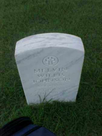 JOHNSON (VETERAN), MELVIN WILLIS - Pulaski County, Arkansas | MELVIN WILLIS JOHNSON (VETERAN) - Arkansas Gravestone Photos