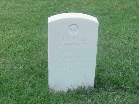 JOHNSON (VETERAN SAW), DUVAL - Pulaski County, Arkansas | DUVAL JOHNSON (VETERAN SAW) - Arkansas Gravestone Photos