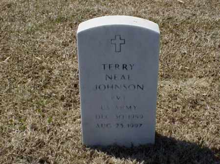 JOHNSON (VETERAN), TERRY NEAL - Pulaski County, Arkansas | TERRY NEAL JOHNSON (VETERAN) - Arkansas Gravestone Photos