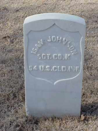JOHNSON (VETERAN UNION), ISAM - Pulaski County, Arkansas | ISAM JOHNSON (VETERAN UNION) - Arkansas Gravestone Photos