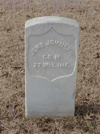 JOHNSON (VETERAN UNION), JENS - Pulaski County, Arkansas | JENS JOHNSON (VETERAN UNION) - Arkansas Gravestone Photos