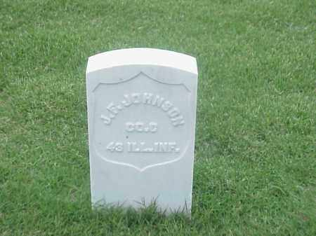 JOHNSON (VETERAN UNION), JOHN F - Pulaski County, Arkansas | JOHN F JOHNSON (VETERAN UNION) - Arkansas Gravestone Photos