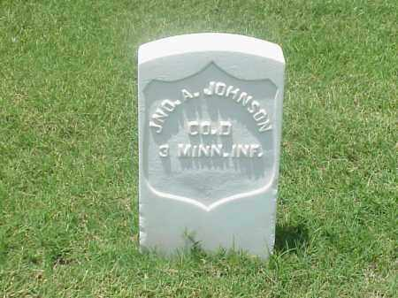 JOHNSON (VETERAN UNION), JOHN A - Pulaski County, Arkansas | JOHN A JOHNSON (VETERAN UNION) - Arkansas Gravestone Photos