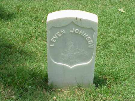 JOHNSON (VETERAN UNION), LEVEN - Pulaski County, Arkansas | LEVEN JOHNSON (VETERAN UNION) - Arkansas Gravestone Photos