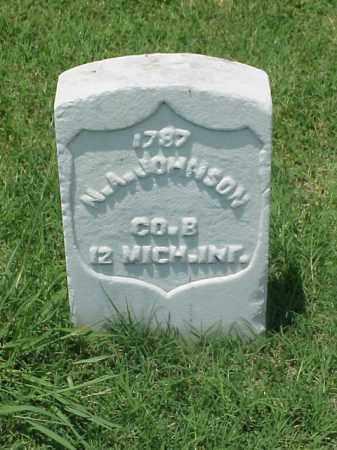 JOHNSON (VETERAN UNION), N A - Pulaski County, Arkansas | N A JOHNSON (VETERAN UNION) - Arkansas Gravestone Photos