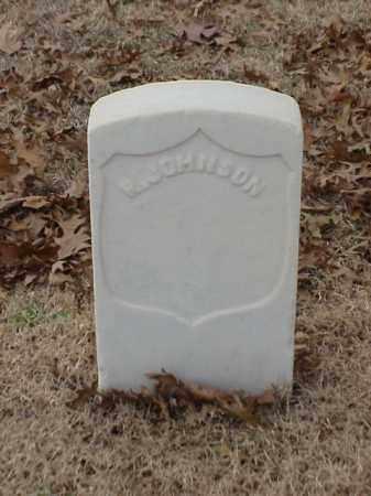 JOHNSON (VETERAN UNION), R - Pulaski County, Arkansas | R JOHNSON (VETERAN UNION) - Arkansas Gravestone Photos
