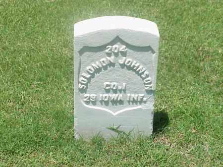 JOHNSON (VETERAN UNION), SOLOMON - Pulaski County, Arkansas | SOLOMON JOHNSON (VETERAN UNION) - Arkansas Gravestone Photos