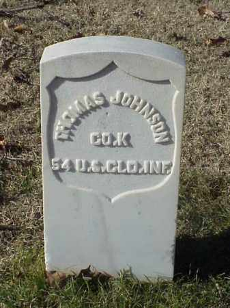 JOHNSON (VETERAN UNION), THOMAS - Pulaski County, Arkansas | THOMAS JOHNSON (VETERAN UNION) - Arkansas Gravestone Photos