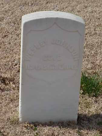 JOHNSON (VETERAN UNION), WESLEY - Pulaski County, Arkansas | WESLEY JOHNSON (VETERAN UNION) - Arkansas Gravestone Photos