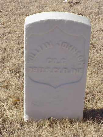 JOHNSON (VETERAN UNION), WILLIAM - Pulaski County, Arkansas | WILLIAM JOHNSON (VETERAN UNION) - Arkansas Gravestone Photos
