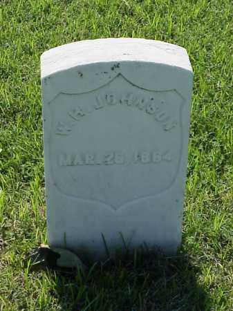 JOHNSON (VETERAN UNION), W H - Pulaski County, Arkansas | W H JOHNSON (VETERAN UNION) - Arkansas Gravestone Photos