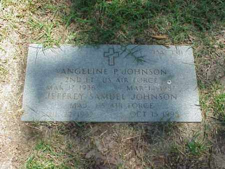 JOHNSON (VETERAN), VANGELINE P - Pulaski County, Arkansas | VANGELINE P JOHNSON (VETERAN) - Arkansas Gravestone Photos
