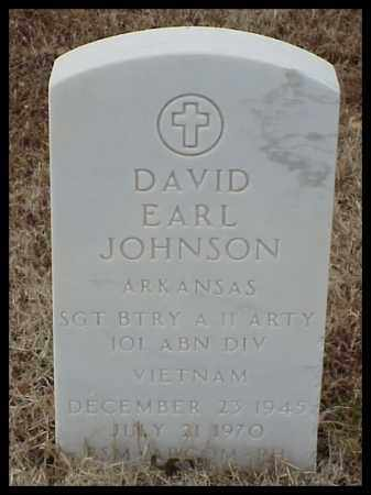 JOHNSON (VETERAN VIET), DAVID EARL - Pulaski County, Arkansas | DAVID EARL JOHNSON (VETERAN VIET) - Arkansas Gravestone Photos