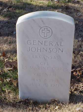 JOHNSON (VETERAN VIET), GENERAL - Pulaski County, Arkansas | GENERAL JOHNSON (VETERAN VIET) - Arkansas Gravestone Photos