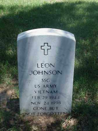 JOHNSON (VETERAN VIET), LEON - Pulaski County, Arkansas | LEON JOHNSON (VETERAN VIET) - Arkansas Gravestone Photos