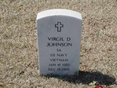 JOHNSON (VETERAN VIET), VIRGIL D - Pulaski County, Arkansas | VIRGIL D JOHNSON (VETERAN VIET) - Arkansas Gravestone Photos