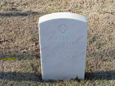 JOHNSON (VETERAN WWI), ARTHUR - Pulaski County, Arkansas | ARTHUR JOHNSON (VETERAN WWI) - Arkansas Gravestone Photos