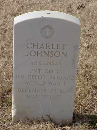 JOHNSON (VETERAN WWI), CHARLEY - Pulaski County, Arkansas | CHARLEY JOHNSON (VETERAN WWI) - Arkansas Gravestone Photos
