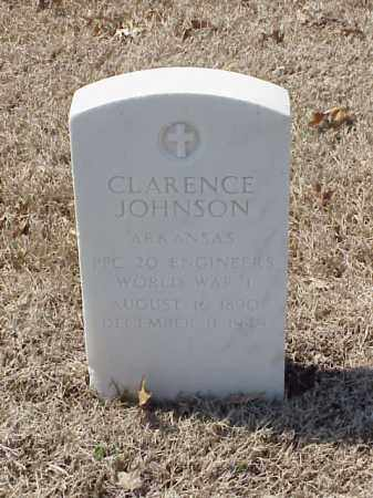 JOHNSON (VETERAN WWI), CLARENCE - Pulaski County, Arkansas | CLARENCE JOHNSON (VETERAN WWI) - Arkansas Gravestone Photos