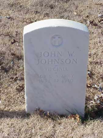 JOHNSON (VETERAN WWI), JOHN W - Pulaski County, Arkansas | JOHN W JOHNSON (VETERAN WWI) - Arkansas Gravestone Photos