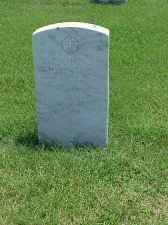 JOHNSON (VETERAN WWI), JOHN - Pulaski County, Arkansas | JOHN JOHNSON (VETERAN WWI) - Arkansas Gravestone Photos