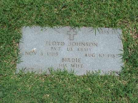 JOHNSON (VETERAN WWII), FLOYD - Pulaski County, Arkansas | FLOYD JOHNSON (VETERAN WWII) - Arkansas Gravestone Photos