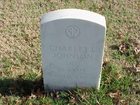 JOHNSON (VETERAN WWII), CHARLES L - Pulaski County, Arkansas | CHARLES L JOHNSON (VETERAN WWII) - Arkansas Gravestone Photos