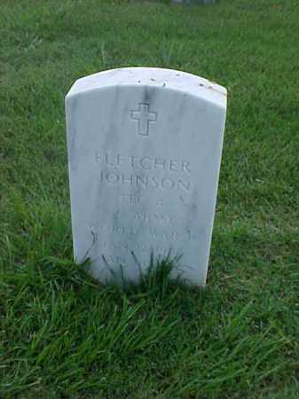 JOHNSON (VETERAN WWII), FLETCHER - Pulaski County, Arkansas | FLETCHER JOHNSON (VETERAN WWII) - Arkansas Gravestone Photos