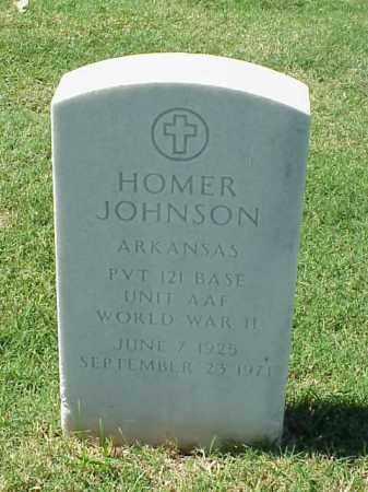 JOHNSON (VETERAN WWII), HOMER - Pulaski County, Arkansas | HOMER JOHNSON (VETERAN WWII) - Arkansas Gravestone Photos