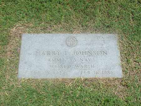 JOHNSON (VETERAN WWII), HARRY E - Pulaski County, Arkansas | HARRY E JOHNSON (VETERAN WWII) - Arkansas Gravestone Photos