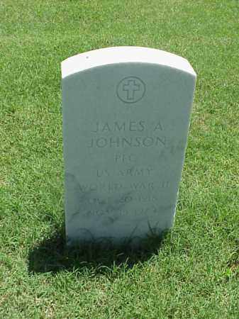 JOHNSON (VETERAN WWII), JAMES A - Pulaski County, Arkansas | JAMES A JOHNSON (VETERAN WWII) - Arkansas Gravestone Photos