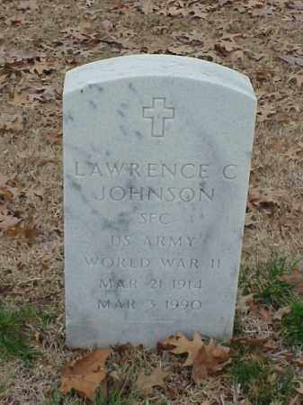 JOHNSON (VETERAN WWII), LAWRENCE C - Pulaski County, Arkansas | LAWRENCE C JOHNSON (VETERAN WWII) - Arkansas Gravestone Photos