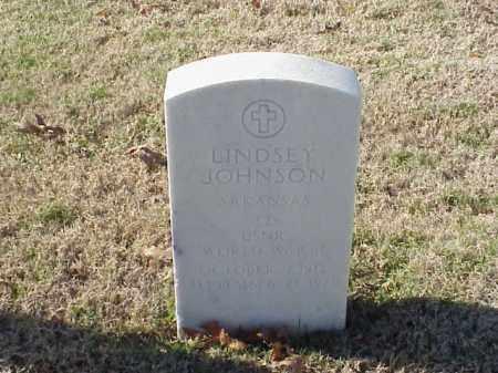 JOHNSON (VETERAN WWII), LINDSEY - Pulaski County, Arkansas | LINDSEY JOHNSON (VETERAN WWII) - Arkansas Gravestone Photos