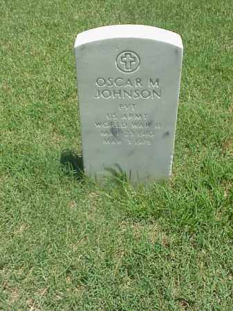 JOHNSON (VETERAN WWII), OSCAR M - Pulaski County, Arkansas | OSCAR M JOHNSON (VETERAN WWII) - Arkansas Gravestone Photos