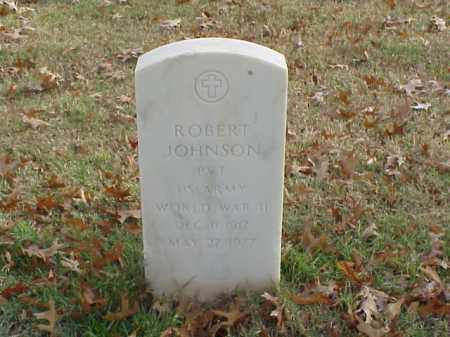 JOHNSON (VETERAN WWII), ROBERT - Pulaski County, Arkansas | ROBERT JOHNSON (VETERAN WWII) - Arkansas Gravestone Photos