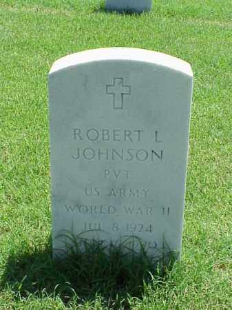 JOHNSON (VETERAN WWII), ROBERT L - Pulaski County, Arkansas | ROBERT L JOHNSON (VETERAN WWII) - Arkansas Gravestone Photos