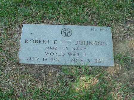 JOHNSON (VETERAN WWII), ROBERT E LEE - Pulaski County, Arkansas | ROBERT E LEE JOHNSON (VETERAN WWII) - Arkansas Gravestone Photos