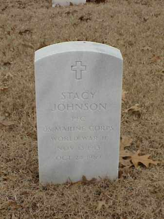 JOHNSON (VETERAN WWII), STACY - Pulaski County, Arkansas | STACY JOHNSON (VETERAN WWII) - Arkansas Gravestone Photos