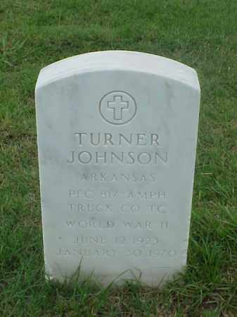 JOHNSON (VETERAN WWII), TURNER - Pulaski County, Arkansas | TURNER JOHNSON (VETERAN WWII) - Arkansas Gravestone Photos