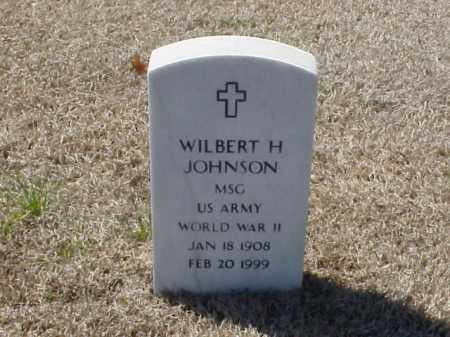 JOHNSON (VETERAN WWII), WILBERT H - Pulaski County, Arkansas | WILBERT H JOHNSON (VETERAN WWII) - Arkansas Gravestone Photos