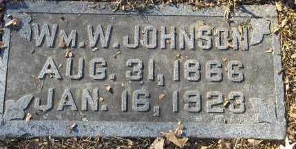 JOHNSON, WILLIAM WALTER - Pulaski County, Arkansas | WILLIAM WALTER JOHNSON - Arkansas Gravestone Photos