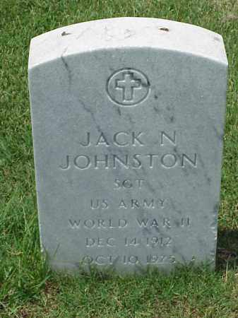 JOHNSTON (VETERAN WWII), JACK N - Pulaski County, Arkansas | JACK N JOHNSTON (VETERAN WWII) - Arkansas Gravestone Photos