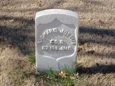 JOLIIFF (VETERAN UNION), RICHARD - Pulaski County, Arkansas | RICHARD JOLIIFF (VETERAN UNION) - Arkansas Gravestone Photos