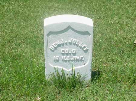 JOLLEY (VETERAN UNION), BENJAMIN - Pulaski County, Arkansas | BENJAMIN JOLLEY (VETERAN UNION) - Arkansas Gravestone Photos
