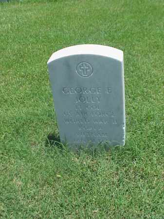 JOLLY (VETERAN 3 WARS), GEORGE E - Pulaski County, Arkansas | GEORGE E JOLLY (VETERAN 3 WARS) - Arkansas Gravestone Photos