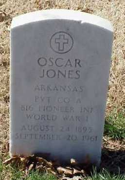 JONES  (VETERAN WWI), OSCAR - Pulaski County, Arkansas | OSCAR JONES  (VETERAN WWI) - Arkansas Gravestone Photos