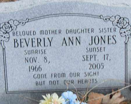 JONES, BEVERLY ANN - Pulaski County, Arkansas | BEVERLY ANN JONES - Arkansas Gravestone Photos