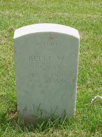 JONES, BELLE W - Pulaski County, Arkansas | BELLE W JONES - Arkansas Gravestone Photos
