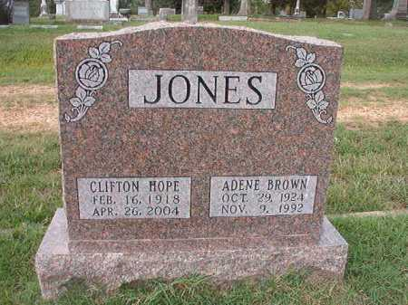 JONES, CLIFTON HOPE - Pulaski County, Arkansas | CLIFTON HOPE JONES - Arkansas Gravestone Photos