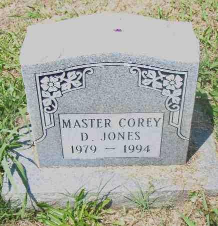 JONES, COREY D. - Pulaski County, Arkansas | COREY D. JONES - Arkansas Gravestone Photos